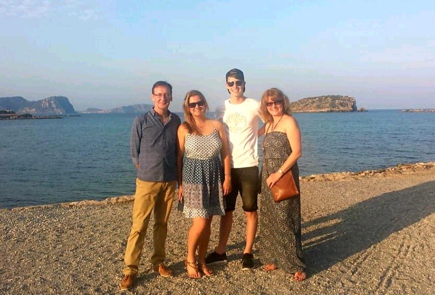Family holiday in Ibiza
